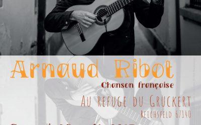 26 août 2017, deuxième soirée «récital au Gruckert», avec Arnaud Ribot !