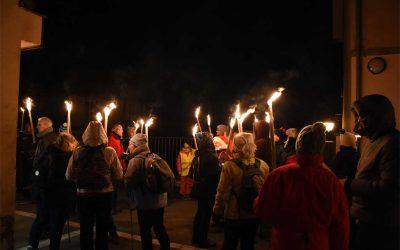 Samedi 1er décembre : 2e Montée aux flambeaux, de Reichsfeld au Gruckert