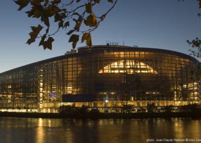 STRASBOURG Parlement Européen ©bleu comm...
