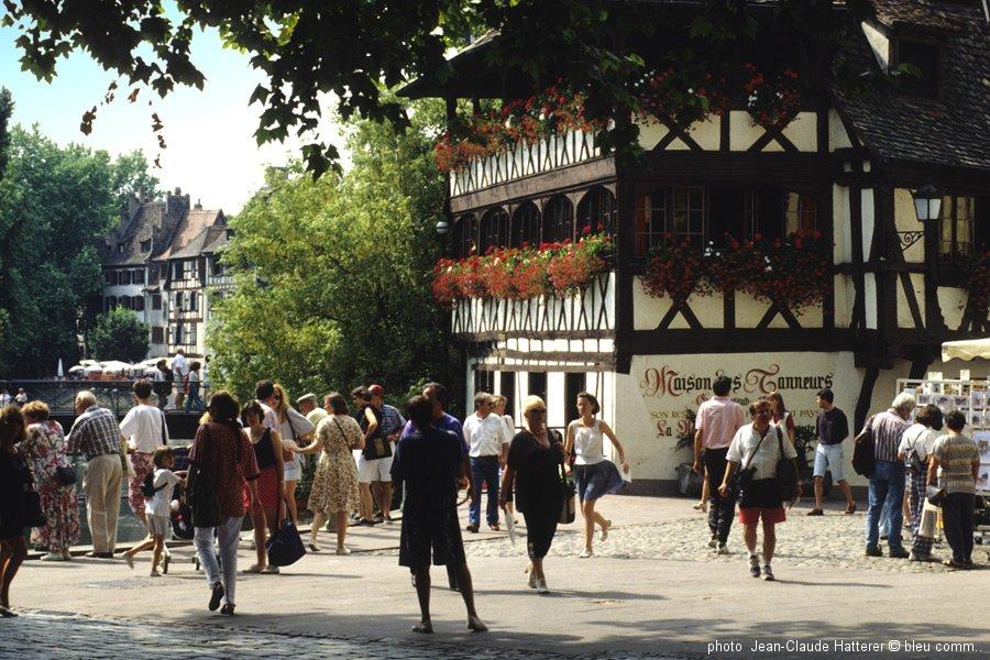STRASBOURG La Petite France ©bleu comm...